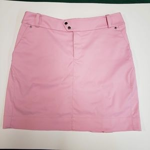 RLX RALPH LAUREN pink golf skirt.